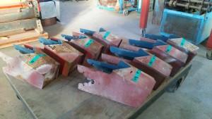 工場に持ち帰り、新しく銅板で加工していきます